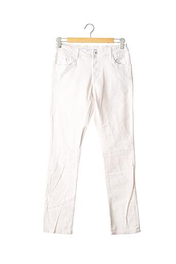 Jeans coupe slim blanc PEPE JEANS pour garçon