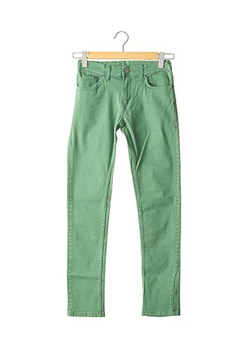 Jeans coupe slim vert PEPE JEANS pour garçon