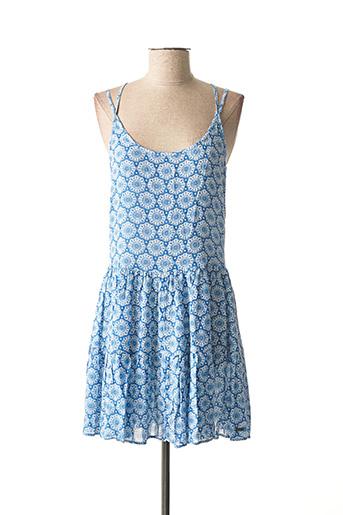 Robe courte bleu PEPE JEANS pour fille