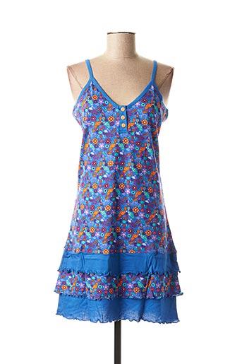 Nuisette/combinette bleu ROSE POMME pour femme