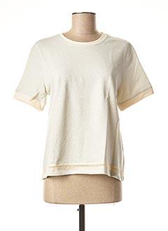 T-shirt manches courtes gris HARRIS WILSON pour femme