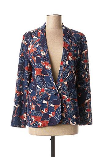 Veste chic / Blazer bleu HARRIS WILSON pour femme