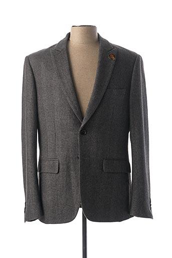 Veste chic / Blazer gris PEARLY KING pour homme