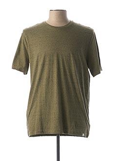 T-shirt manches courtes vert HARRIS WILSON pour homme