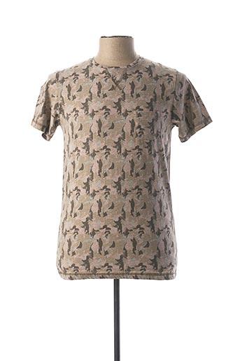 T-shirt manches courtes rose DSTREZZED pour homme