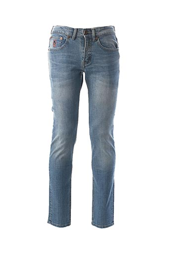 Jeans coupe slim bleu PEARLY KING pour homme