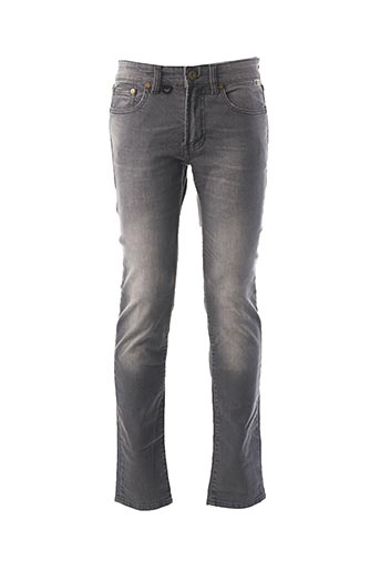 Jeans coupe slim gris PEARLY KING pour homme