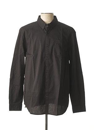 Chemise manches longues noir LEE COOPER pour homme