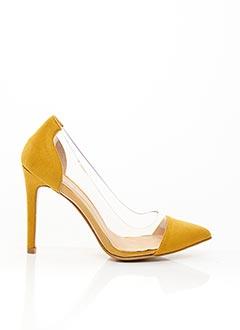 Escarpins jaune ERYNN pour femme