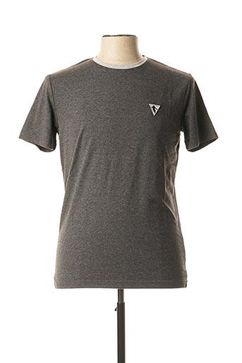 T-shirt manches courtes gris CAMBERABERO pour homme