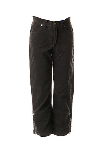 Pantalon casual noir TEDDY SMITH INDUSTRY pour fille