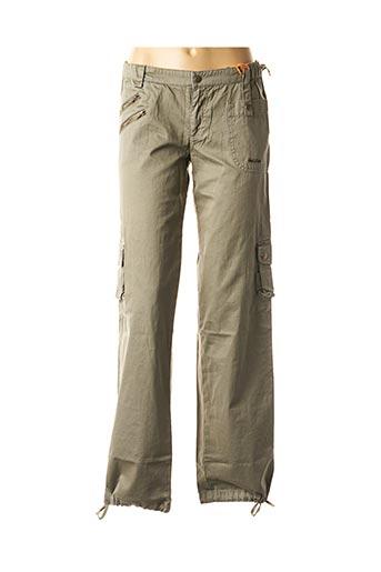 Pantalon casual vert DDP pour fille
