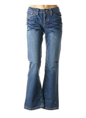 Jeans bootcut bleu TEDDY SMITH pour fille
