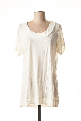 T-shirt manches courtes beige CHEAP MONDAY pour femme