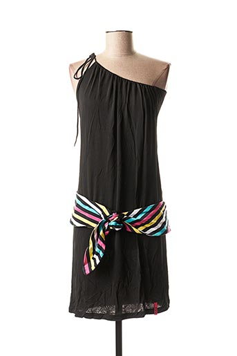 Robe mi-longue noir KILLAH pour femme