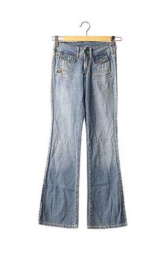 Jeans bootcut bleu LOIS pour fille