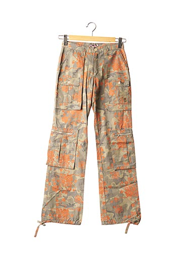 Pantalon casual vert TEDDY SMITH INDUSTRY pour fille