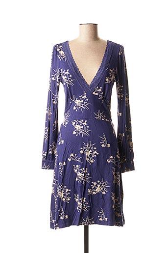 Robe mi-longue bleu CHILLI PEPPER pour femme
