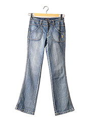 Jeans bootcut bleu TEDDY SMITH INDUSTRY pour fille seconde vue