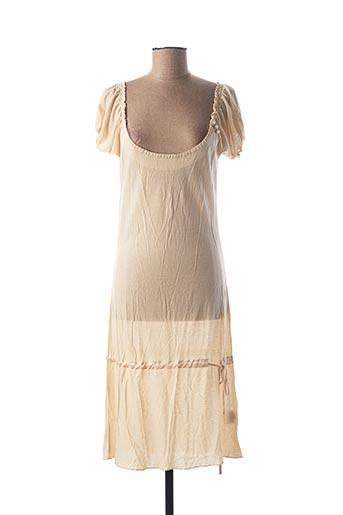 Robe courte beige CIMARRON pour femme