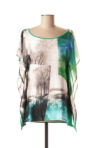 T-shirt manches longues vert SALSA pour femme