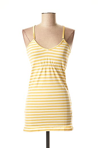 Top jaune BLEND pour femme