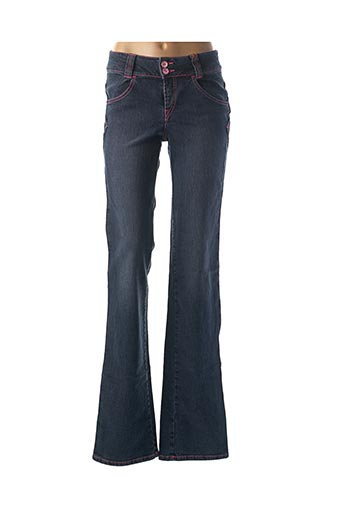 Jeans coupe droite bleu TEDDY SMITH INDUSTRY pour fille