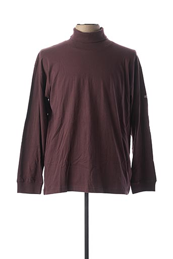 Sous-pull violet TEDDY SMITH pour homme