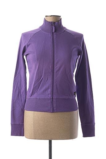 Veste casual violet KILIWATCH pour femme