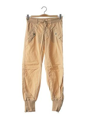Pantalon casual beige TEDDY SMITH INDUSTRY pour fille