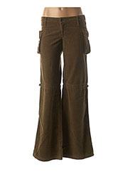 Pantalon casual vert CIMARRON pour fille seconde vue