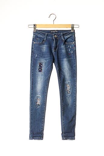 Jeans coupe slim bleu MINI MIGNON pour fille