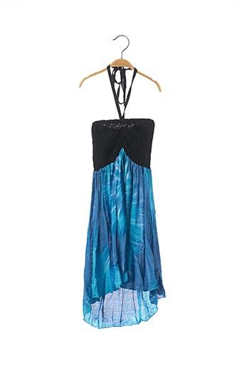Robe longue bleu BEACHWEAR pour fille