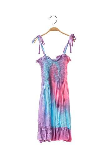 Robe longue violet BEACHWEAR pour fille