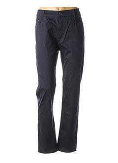 Pantalon casual bleu H&U pour femme