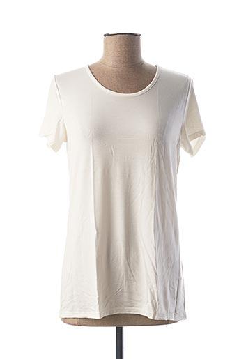 T-shirt manches courtes beige CALIDA pour femme