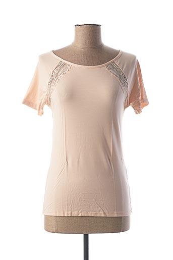T-shirt manches courtes rose CALIDA pour femme