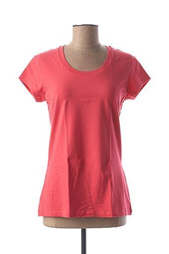 T-shirt manches courtes rouge CALIDA pour femme