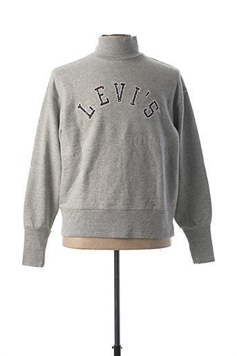 Sweat-shirt gris LEVIS pour homme