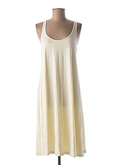 Robe mi-longue beige MYRINE & ME pour femme