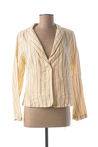 Veste chic / Blazer beige INDI & COLD pour femme