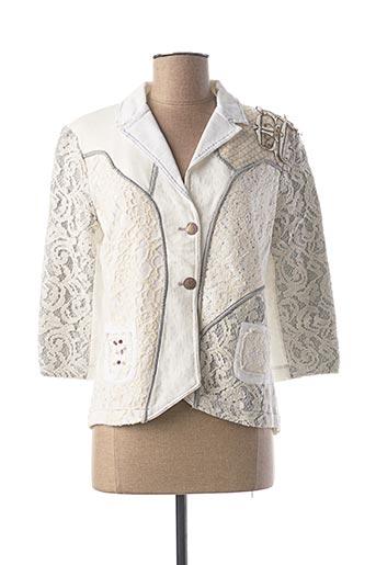 Veste chic / Blazer blanc ELISA CAVALETTI pour femme