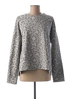Sweat-shirt gris DIPLODOCUS pour femme