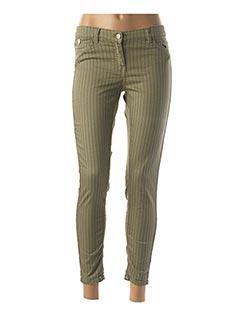 Pantalon 7/8 vert DIPLODOCUS pour femme