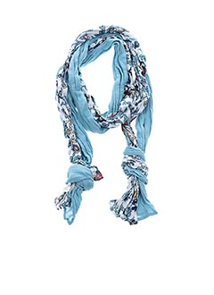 Foulard bleu I.CODE (By IKKS) pour femme