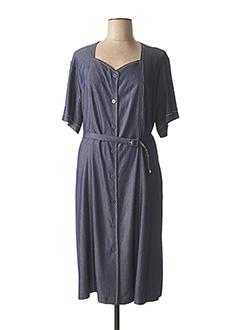 Robe longue gris GRIFFON pour femme