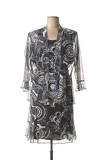 Veste/robe noir ANNA LAURA W. pour femme