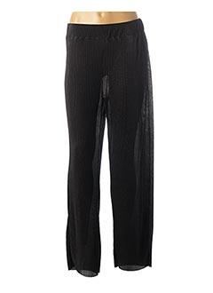 Pantalon casual noir CISO pour femme