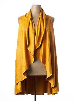 Veste casual jaune JEAN MARC PHILIPPE pour femme