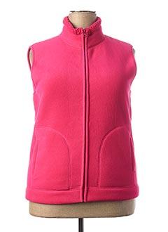 Veste casual rose GRIFFON pour femme